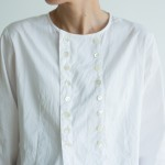 BROADCLOTH Cock Shirt white