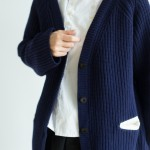 MERINO WOOL Knit cardigan