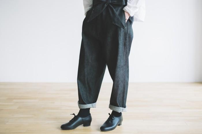black DENIM Pants 4