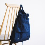 GARMENT DYE DAY BAG navy