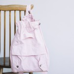 GARMENT DYE DAY BAG pink