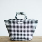 GINGHAM CHECK MARCHE BAG  SMALL