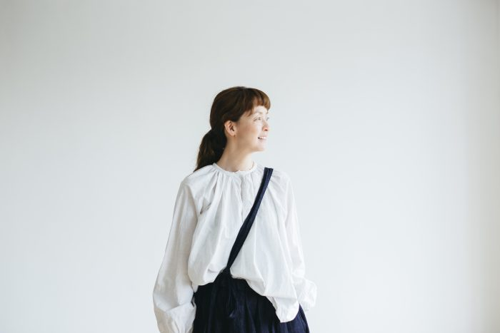 One Shoulder Strap Skirt  Indigo 3