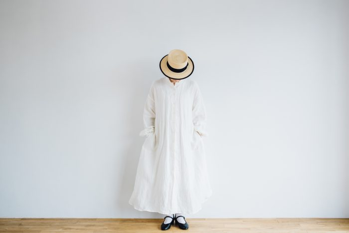 Ecru et pousse 別注  -white- 3