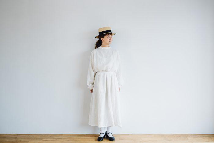 Ecru et pousse 別注  -white- 4