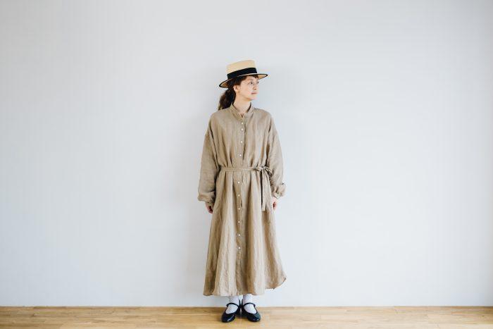 Ecru et pousse 別注  -dark beige- 1