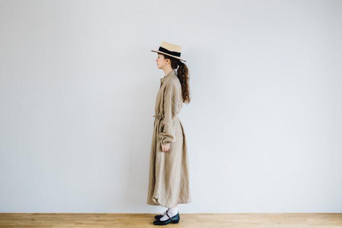 Ecru et pousse 別注  -dark beige- 2