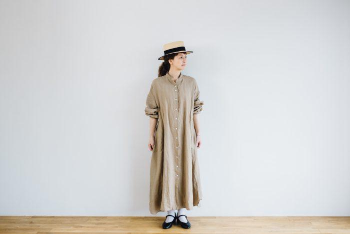 Ecru et pousse 別注  -dark beige- 3