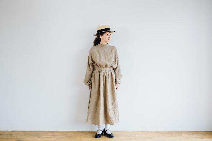 Ecru et pousse 別注  -dark beige- 4