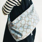 tambourine bag light blue