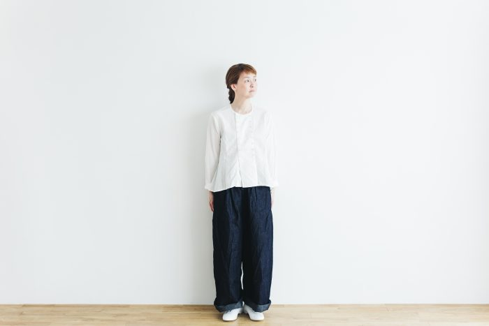 DENIM long roomy pants 5