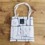 garden patchwork bag light gray