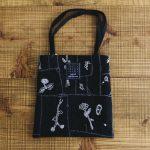 garden patchwork bag black