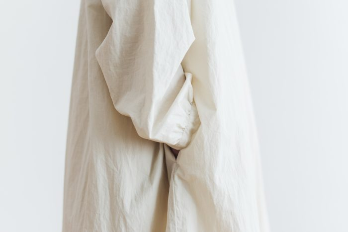 Cotton Linen 2way one-piece  ecru 5