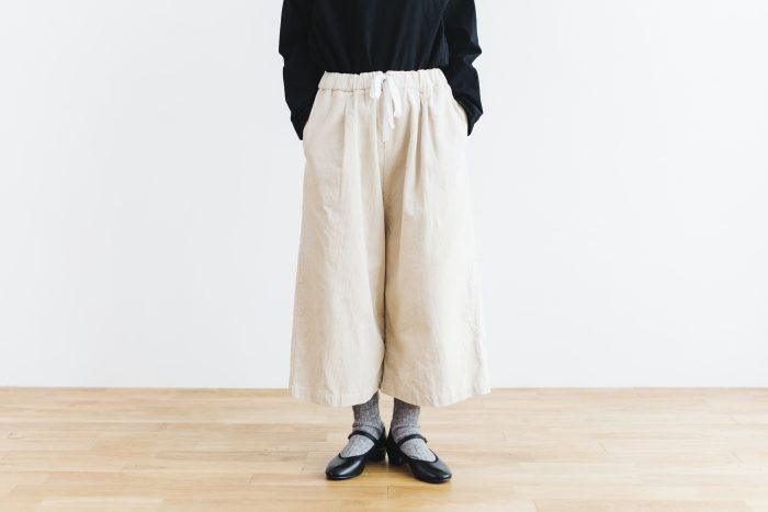 Cotton corduroy Pants  milk 3