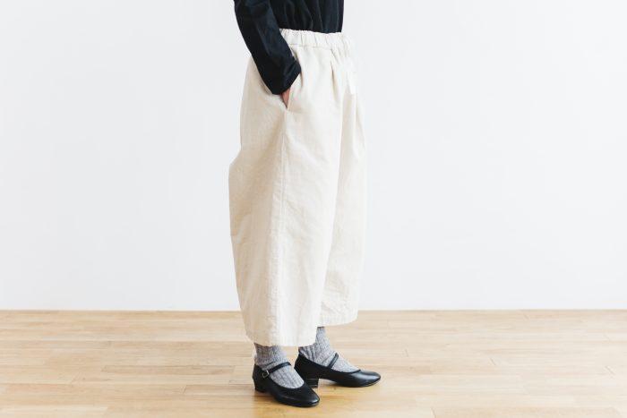 Cotton corduroy Pants  milk 4