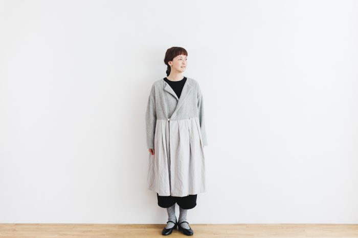 Cache-couer Coat  gray 1