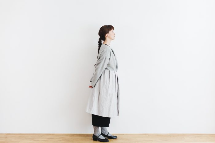 Cache-couer Coat  gray 2