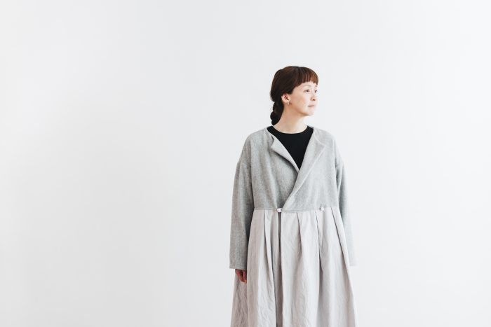 Cache-couer Coat  gray 4
