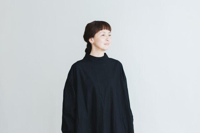 Cotton Linen 2way one-piece  black 6