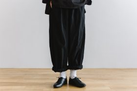 charlie pants  mat black 1