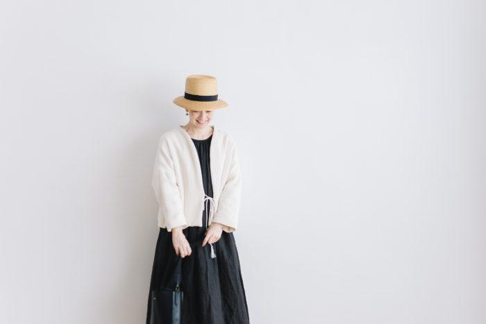 six layer cotton HAORI jaket  kinari 6