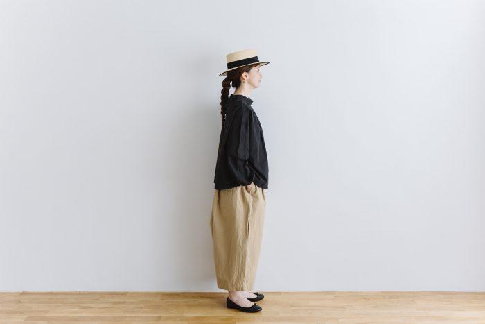 wide sarouel pants beige 5