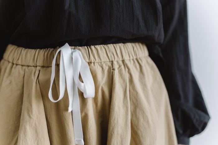 wide sarouel pants beige 4