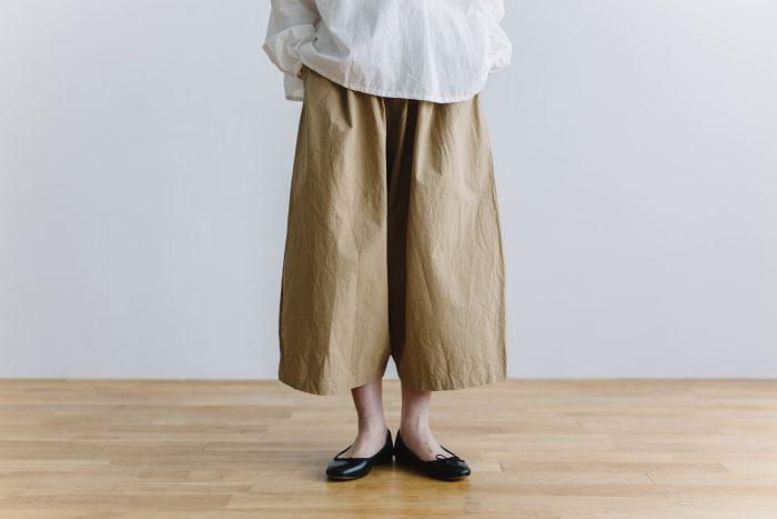 wide sarouel pants beige 1