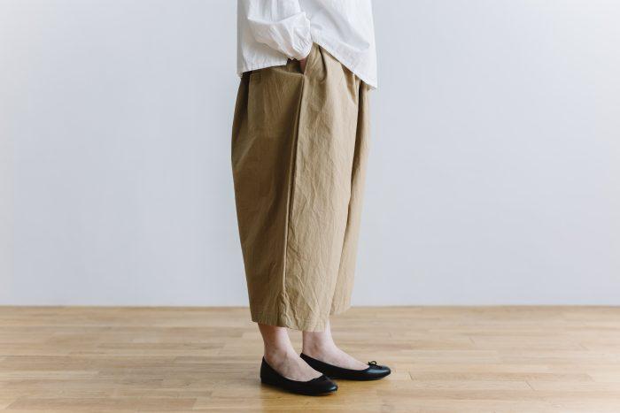 wide sarouel pants beige 2