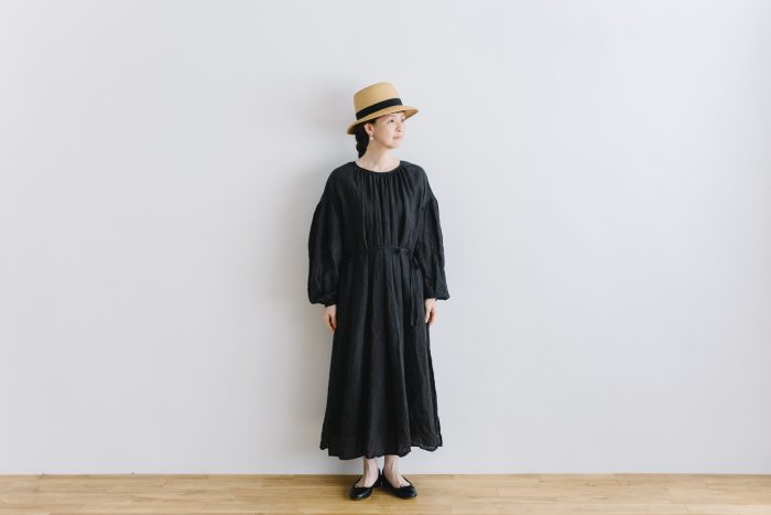 gather church one-piece  black 1