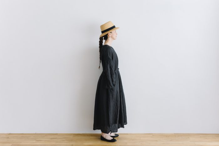 gather church one-piece  black 2