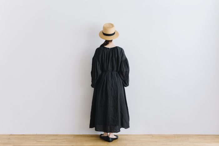 gather church one-piece  black 3