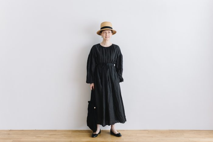 gather church one-piece  black 6
