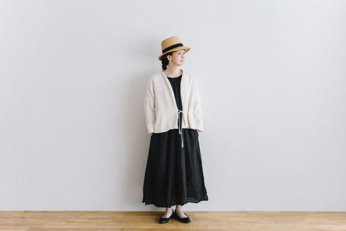 six layer cotton HAORI jaket  kinari 1