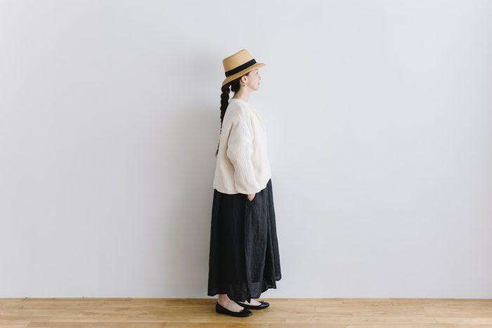 six layer cotton HAORI jaket  kinari 2