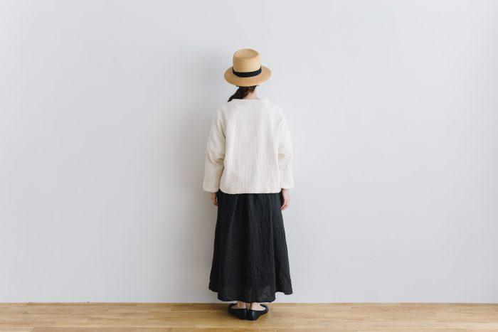 six layer cotton HAORI jaket  kinari 3