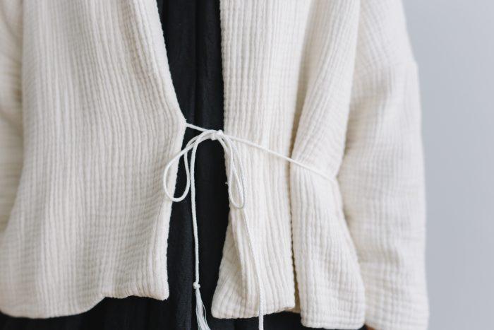 six layer cotton HAORI jaket  kinari 5