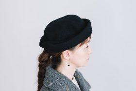 FELT HAT black 5