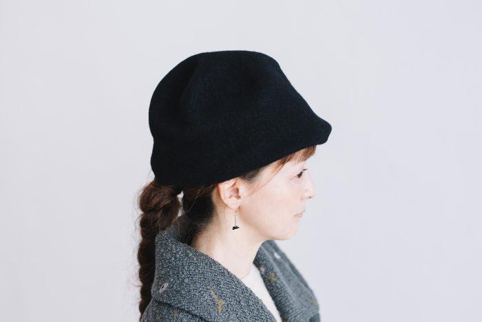 FELT HAT black 2