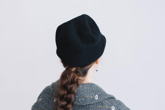 FELT HAT black 3