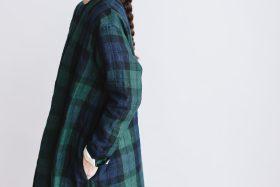 SCOTTISH CHECK PULLOVER DRESS blackwatch 6