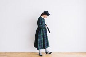 SCOTTISH CHECK PULLOVER DRESS blackwatch 2