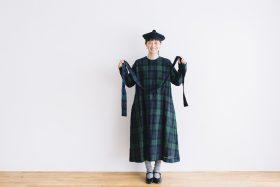 SCOTTISH CHECK PULLOVER DRESS blackwatch 3