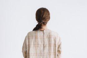SCOTTISH CHECK PULLOVER DRESS  beigecheck 3