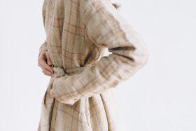 SCOTTISH CHECK PULLOVER DRESS  beigecheck 6
