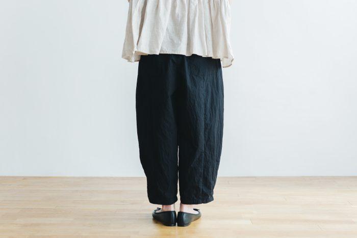 cotton nylon short charlie pants  black 3