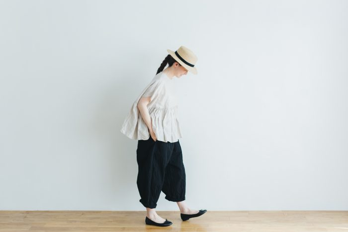 cotton nylon short charlie pants  black 4