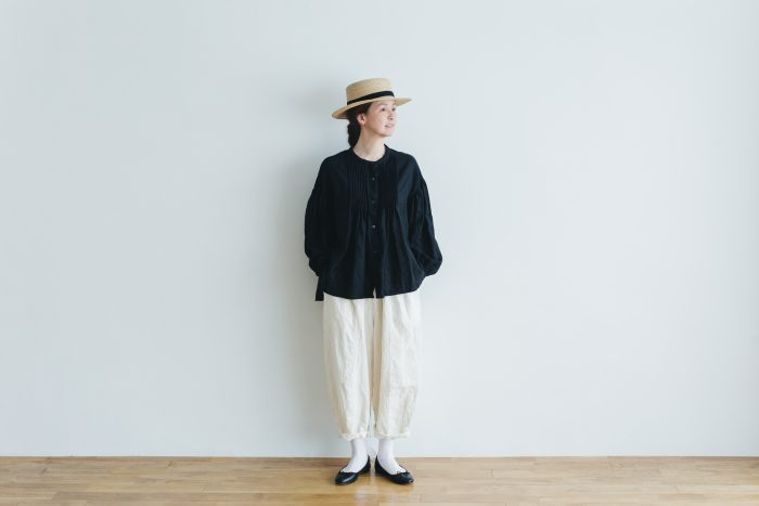 linen short charlie pants  white 6