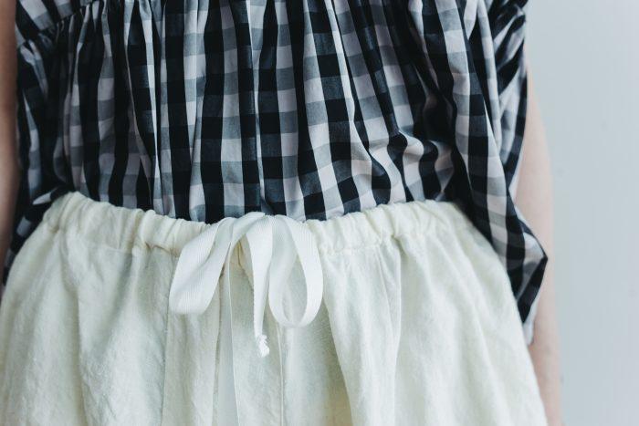 linen short charlie pants  white 4